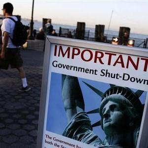 米政府機関閉鎖