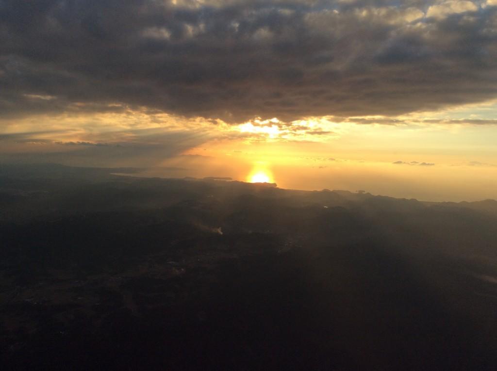2015年最後の太陽